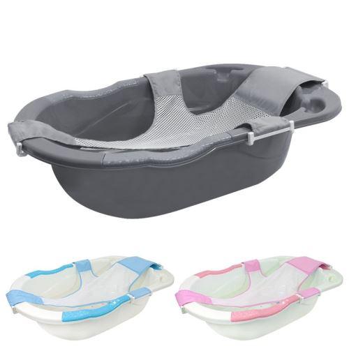 Baignoire bébé évolutive avec hamac de bain avec vidange