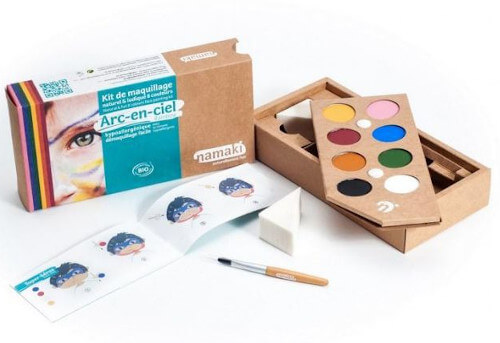Kit de maquillage 8 couleurs NAMAKI
