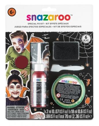 Kit de maquillage pour effets spéciaux Snazaroo